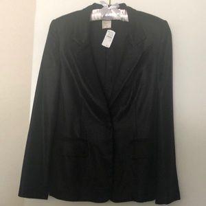 A exclusive black designer jacket